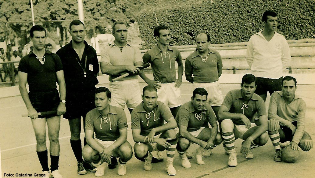 Antonio Simões, Carlos Martins, Contardo, Patrão, Jorge Graça, Alves Silva, ?, ?, Laranjo, Moreira Alves,?
