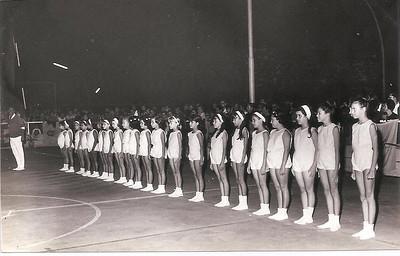 Dundo - ringue de Patinagem 1970 Carla Pereira Ferreira, Brigida Santos , Isabel Reis, Zezinha Gameiro
