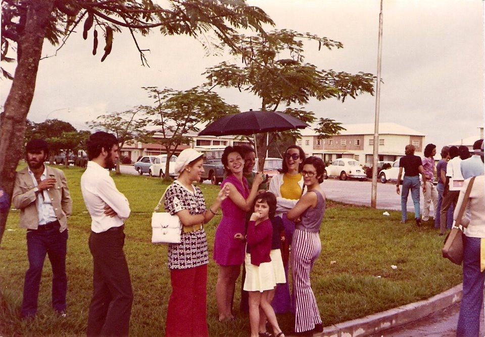 Gincana em Andrada 1970 Gloria Neto, Linda Madureira, Augusta Madureira, Nani Serraventoso