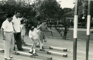 1950 -Dundo Laranjo, Rosendo e Zé Mesquita