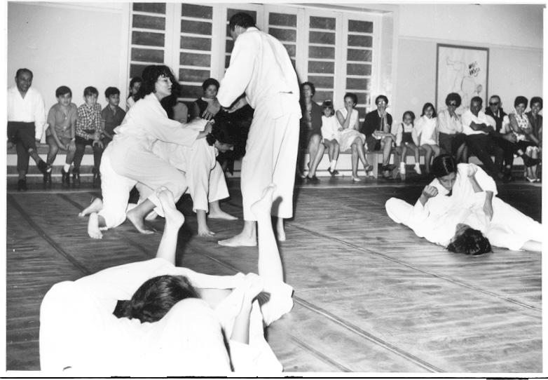 Judo, exame