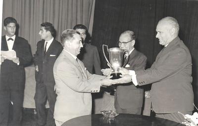 Francisco Simmons à esquerda e Engº Bexiga à direita