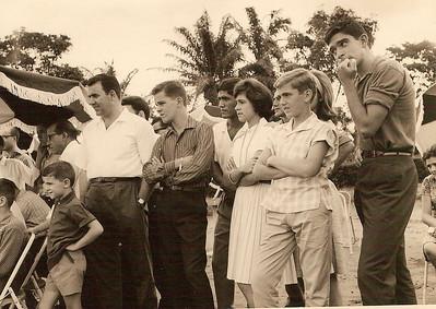 """1964 Pereira Jorge, Jorge """"Vitor"""" Santos, Chico Viriato, Olga Humberto Sousa, Zezé e Fifas Melim e Luis Maldonado"""