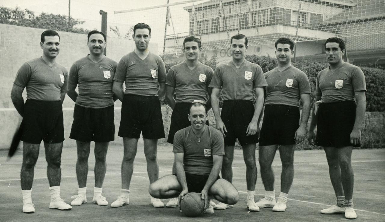 Américo Teixeira, Américo Freire, Vidal Ramos, José Mesquita, Vítor Santos, Coelho, Américo Basilio, António Rocha
