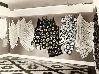 Expo, toalhas de crochet
