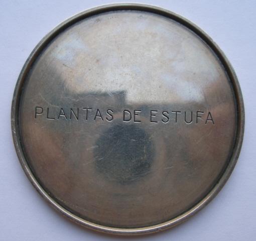 Medalha -Frente -1952 2* Prémio - Plantas de Estufa