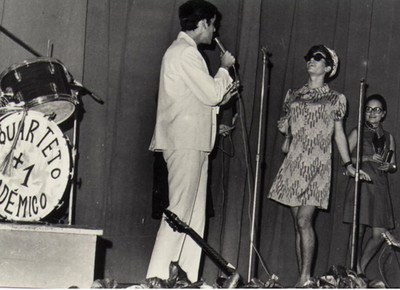 Carlos Pinto, Fernando Martins e Janeca