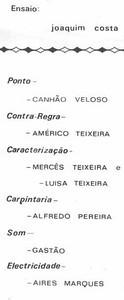 1970 dundo- programa da Mordaca