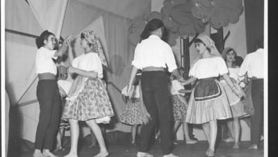 1963 Isabel Medeiros, ?Teresa Fontinhas, ??, Manuel Fernando Pinho Barros ?, Né Josefa, Armando Ferreira, Elza Manuel Augusto