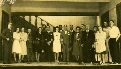 Dundo em Agosto de 1946 A Vizinha do Lado Eugénio, Lázaro Vítor Santos,  Américo Freire,
