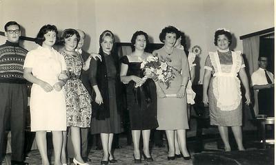 Rui Pedroso Neves(?), Leonor Viriato, Evelise Moniz,  Teixeira de Sousa, sra do Moniz, Maria Helena Noronha Feyo, Mariazinha Dinis , ?