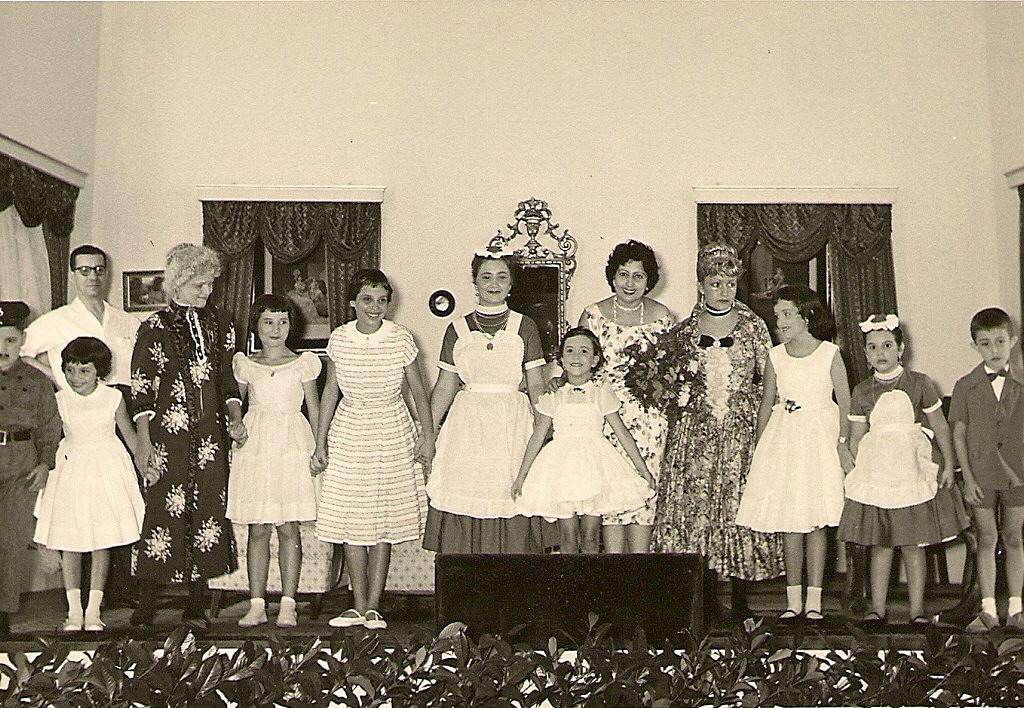 Teatro Infantil, Dundo, Abril 1959,  Artistas: ?  Encenadora: Sra Noronha Feio