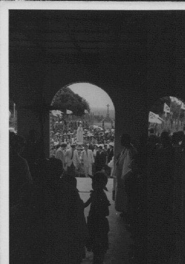 1948 - Chegada da Nossa Senhora de Fátima