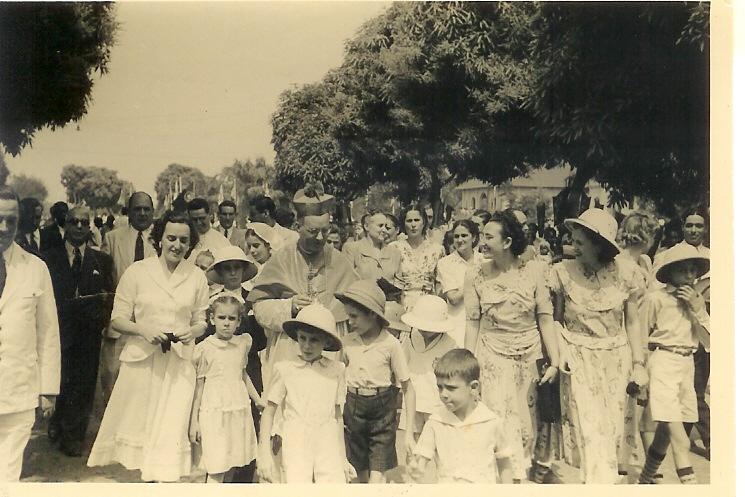 1947- Visita Pastoral
