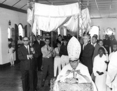 Dundo - Visita episcopal Julho 1967