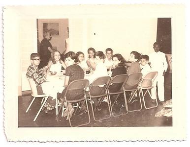 Jantar casa dos Santos David