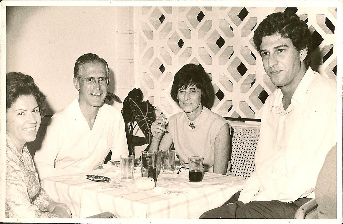 Dundo.  50 anos Dr. Luna de Carvalho. Conceição Videira, casal Barros Machado, Francisco Simmons