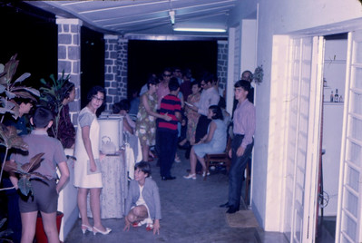 1967, Dundo Festa na casa dos Santos David - anos da Paula