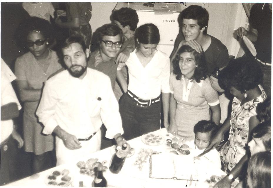 "Zé Gradil, ""Cenoura"", Jorge Viegas e Isabel Jaime Santos"