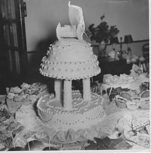 1958 Andrada,  Bolo do Baptizado Guida Tavares