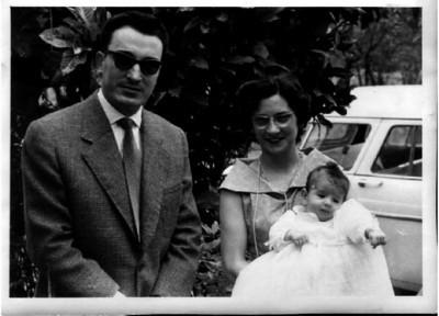 Baptizado do Nuno Pinto Soares casal Casasnovas