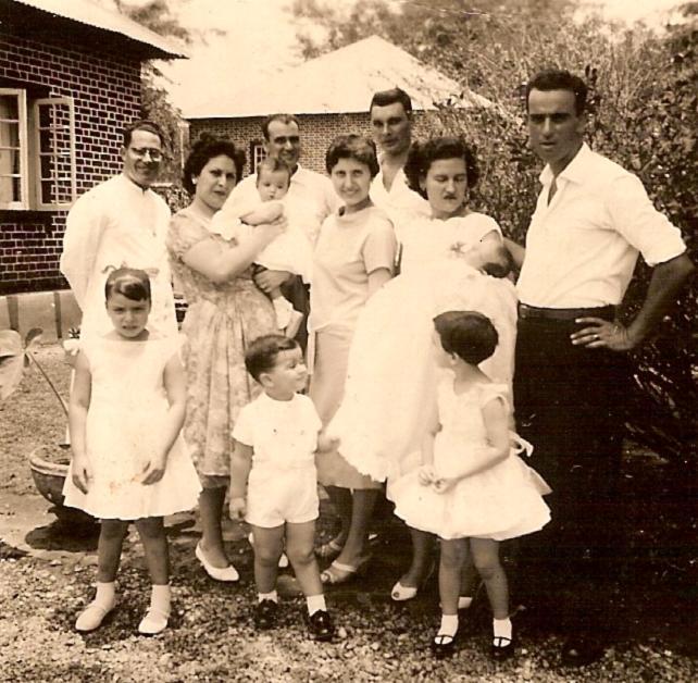 Baptizado do Fernando João Piedade Padre Seabra, Família Piedade e...
