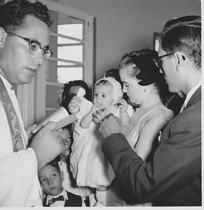 1958 Andrada,   Baptizado Guida Tavares  Padre Casimiro