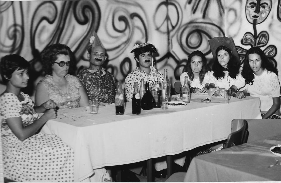 Dundo Carnaval 1974 Familia Pereira -  Sao Pereira