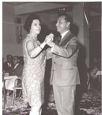 Carnaval 1969 Zi Valente e Dr. Pedro Alves