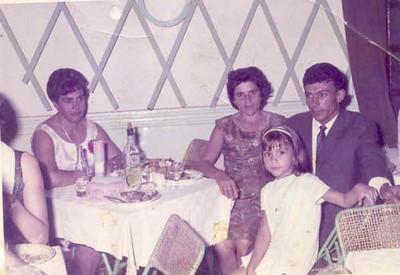 Andrada Casal Gaspar e filha