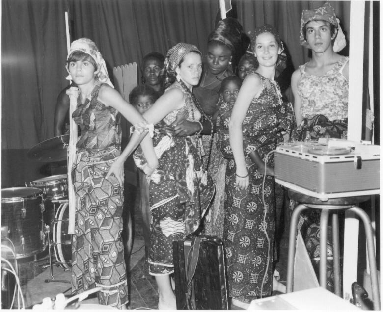Carnaval 1971 To' Mendes, Linda Madureira, Tita Canhão Veloso, Rui Paulo Fernandes