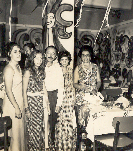 Bibica,Ratocas,Sr.Garraio, Filha Paula,e Esposa