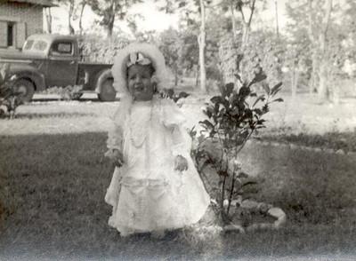 Andrada- Fevereiro 1957,  Ana Maria, filha de Enfº Garrido
