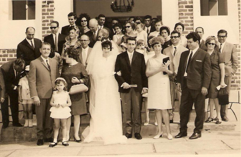 Casamento de Luciano Benedito e Maria Lopes