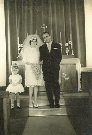 Andrada 1962 - Casamento da ISABEL AMARAL  Carlinha Medeiros e os noivos