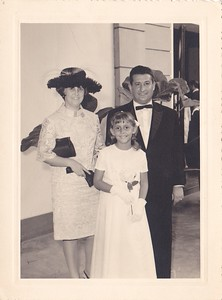 Andrada-Casamento da ZEZINHA SANTOS e JOSE' MARIA  Casal Tavares e filha Guida