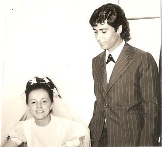 Andrada 25 -11-1973   Lena Sebastiao Vaz e Carlos Nascimento