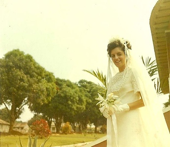 """Andrada 11/07/71 Nanda """"Ferreira da Silva"""" - esta foto foi tirada na varanda do Pinho Barros, em Andrada,"""