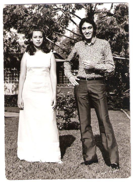 Lucapa 24/9/72 - Casamento da Nany Tavares  Paula Borges e Ze' Eduardo Ressurreicao