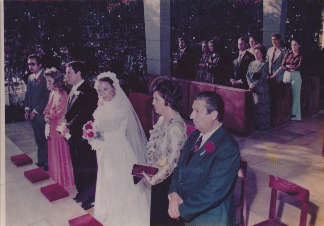 Luanda Casamento da Isabel Medeiros e Joao padrinhos: casal Tavares