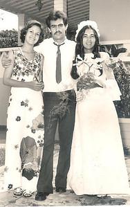 Casamento da Guida Cerejeira -  3 manos: Teresa, Nando e Guida