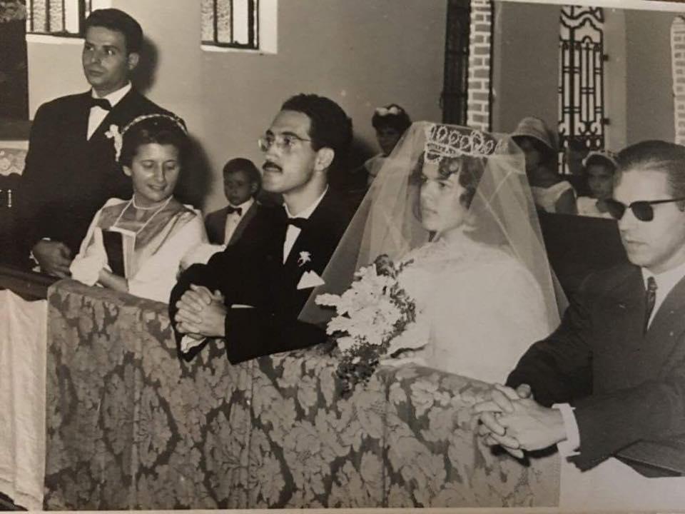 Dundo 1961- Casamento Lourdes e Carreira