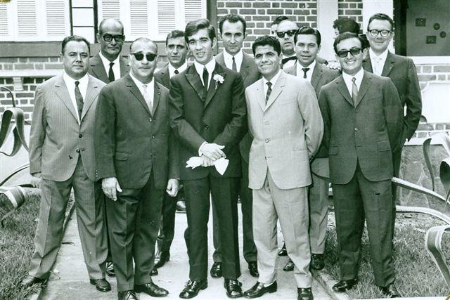 Dundo. ODETE E NELSON TEIXEIRA.  Dezembro 1970 Carvalho, Nelson, e?