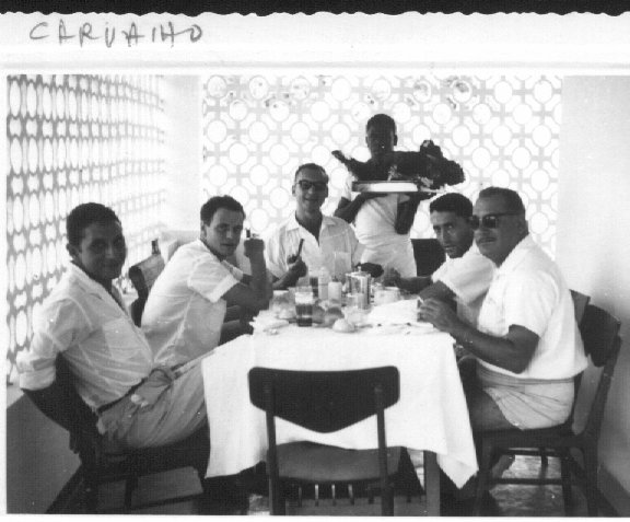 Carvalho e amigos no Cuango
