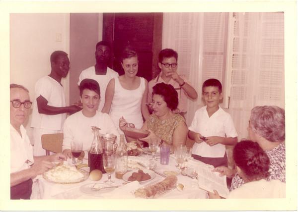 familia do Dr. João Novo e família do Dr. Jorge Monteiro