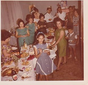 Andrada - festa de anos? sra do PInto enfermeiro, Aurora TAvares, Fernanda Morgado, Medeiros, Morgado, casal Pacheco, Rui Pinto, Elizabete Medeiros e Deborah