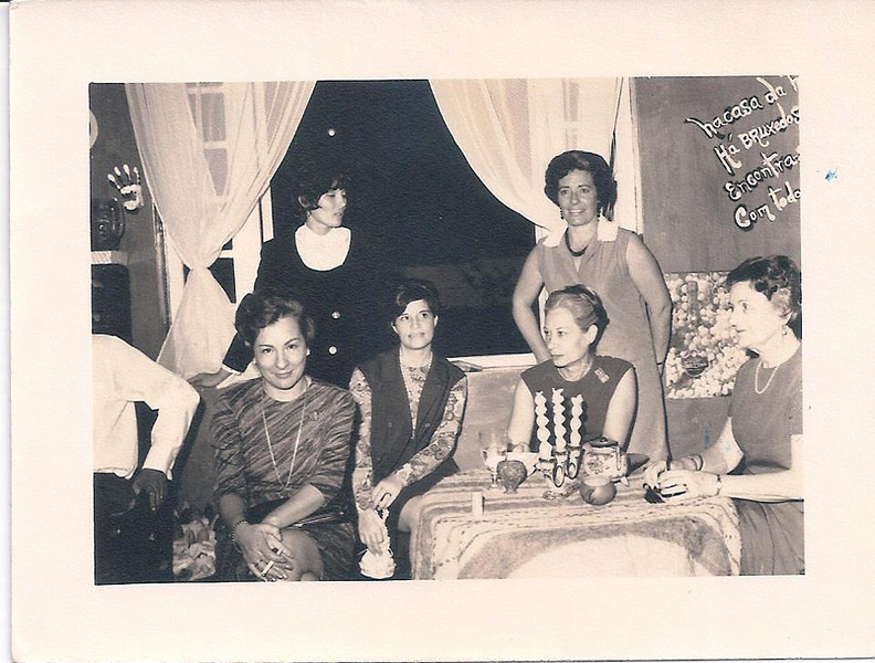 Chitato 1969 - Festa no palácio do administrador  Lurdes Norberto Guimaraes, São Gameiro, sra do Feronha e,,,,??