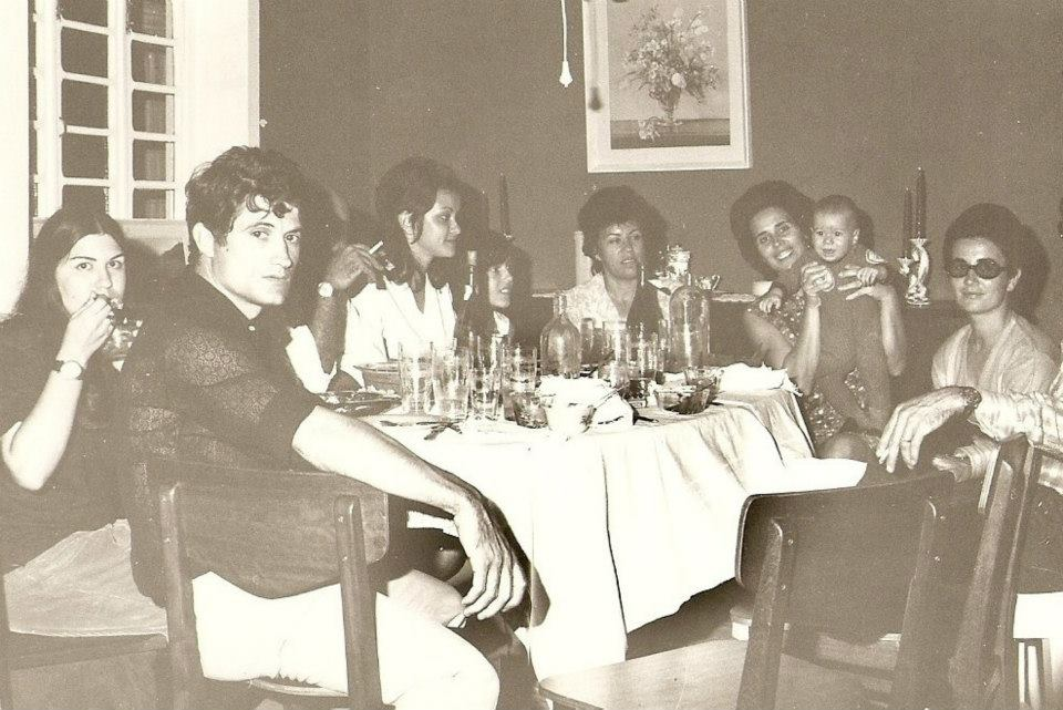 Boa Morte , Milú, Nela Vaz, Magui Rebordão Silvestre, São Videira, Fernanda Rebordão com o filho do Elias Ferreira e esposa dele a Marina