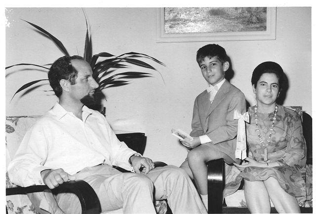 Dundo.  Lili Bexiga e Engº Adolfo Roque