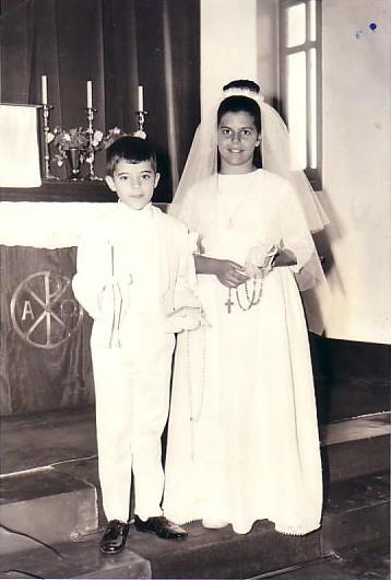 Dundo 1969. Telinho e Ana Maria Josefa